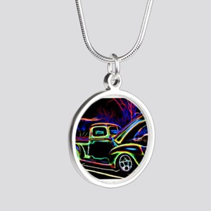 1940 Ford Pick up Truck Neon Necklaces