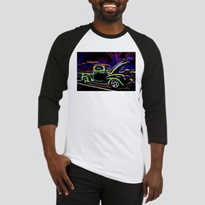 1940 Ford Pick up Truck Neon Baseball Jersey