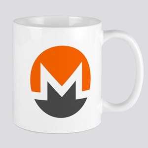 Monero Logo Symbol Design Icon Mugs