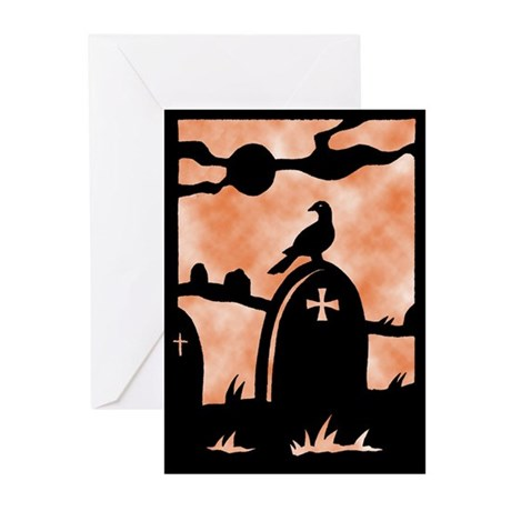 Gothic Graveyard Greeting Cards (Pk of 10)