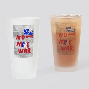 No More War Drinking Glass