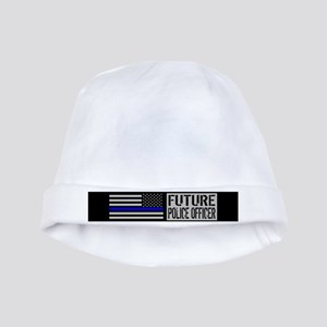 Police: Future Police Officer (Black Flag baby hat