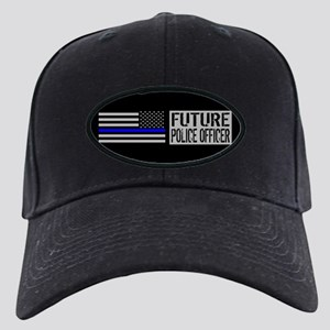 Police: Future Police Officer (Black Fla Black Cap