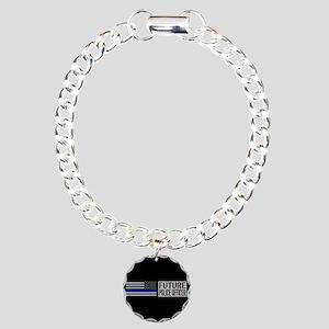 Police: Future Police Of Charm Bracelet, One Charm