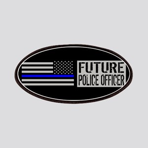 Police: Future Police Officer (Black Flag Bl Patch