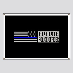 Police: Future Police Officer (Black Flag B Banner