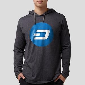 Dash Coin Logo Symbol Design I Long Sleeve T-Shirt