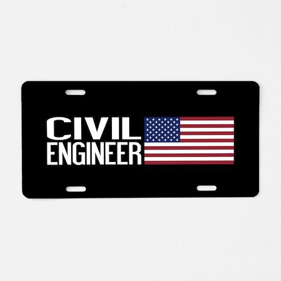 Careers: Civil Engineer (U. Aluminum License Plate