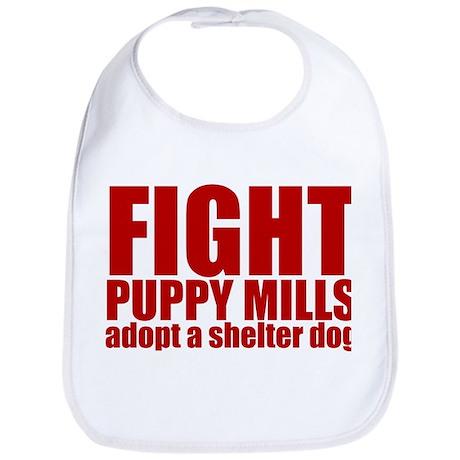 Fight Puppy Mills Bib