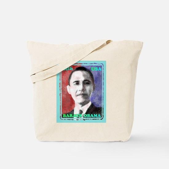 Obama 44th Tote Bag