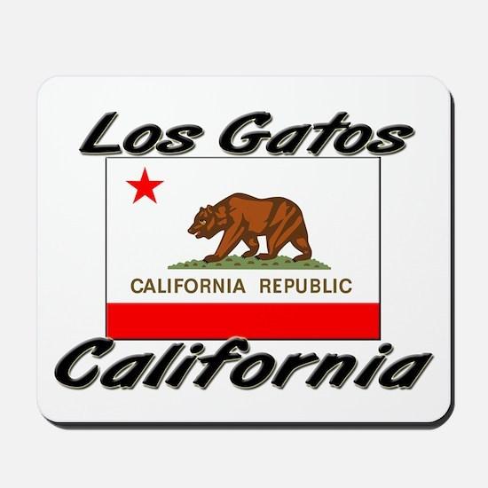Los Gatos California Mousepad