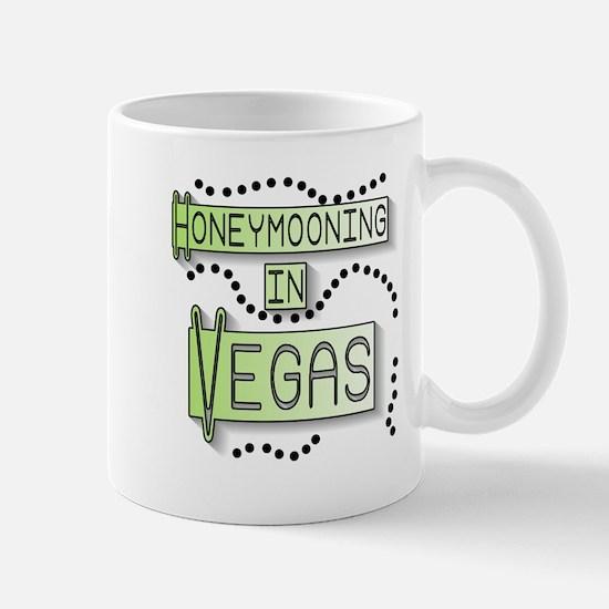 Green Honeymoon Vegas Mug