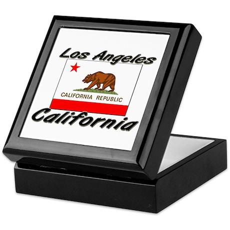 Los Angeles California Keepsake Box