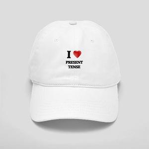 I Love Present Tense Cap