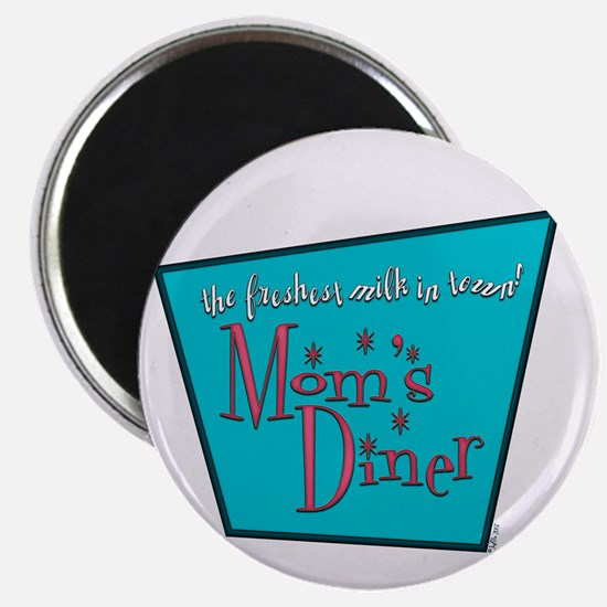 Mom's Diner Lactation Magnet