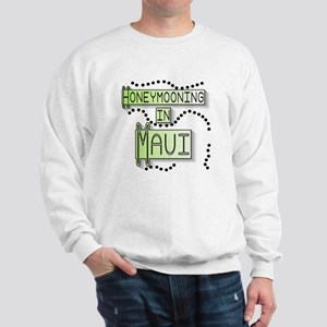 Green Honeymoon Maui Sweatshirt