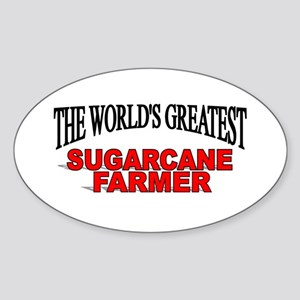 """The World's Greatest Sugarcane Farmer"" Sticker (O"