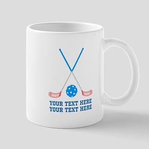 Floorball hockey Personalized 11 oz Ceramic Mug