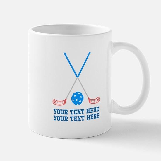 Floorball hockey Personalized Mug