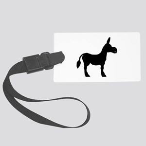 Donkey Silhouette Large Luggage Tag