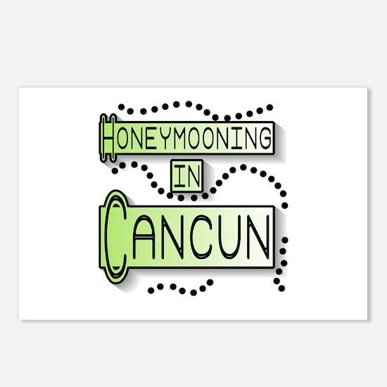 Green Honeymoon Cancun Postcards (Package of 8)