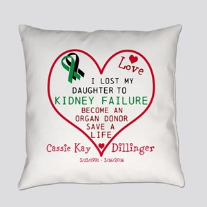 Personalize-Loss To Kidney Failure Everyday Pillow