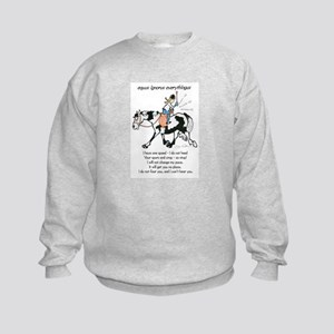 Ignorus Everythingus Kids Sweatshirt