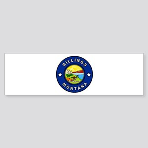 Billings Montana Bumper Sticker