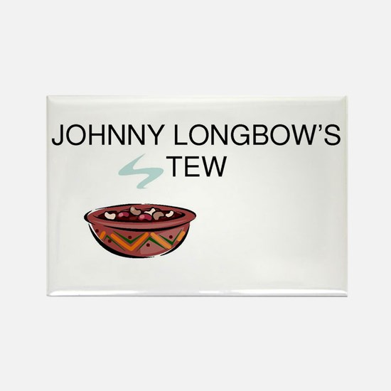 Johnny Longbow's Stew Rectangle Magnet