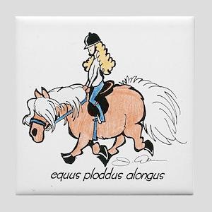 Ploddus Alongus Tile Coaster