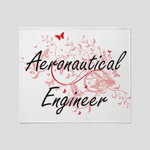 Aeronautical Engineer Artistic Job D Throw Blanket