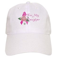 Breast Cancer Support Daughter Baseball Cap