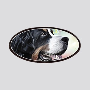 Bernese Mountain Dog Painting Patch