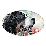 Bernese Mountain Dog Painting Sticker