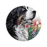 Bernese Mountain Dog Painting 3.5