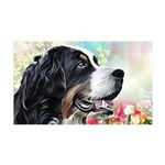 Bernese Mountain Dog Painting Wall Decal