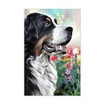 Bernese Mountain Dog Painting Posters