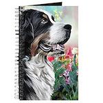 Bernese Mountain Dog Painting Journal