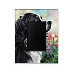 Bernese Mountain Dog Painting Picture Frame