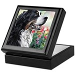 Bernese Mountain Dog Painting Keepsake Box