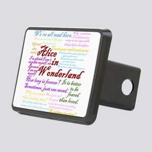 Alice in Wonderland Quotes Hitch Cover