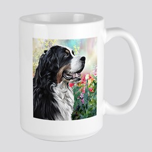 Bernese Mountain Dog Painting Mugs
