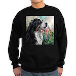 Bernese Mountain Dog Painting Sweatshirt