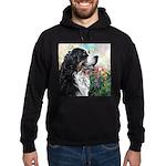 Bernese Mountain Dog Painting Hoodie