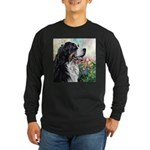 Bernese Mountain Dog Painting Long Sleeve T-Shirt