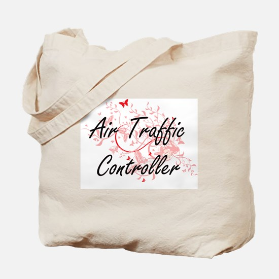 Air Traffic Controller Artistic Job Desig Tote Bag