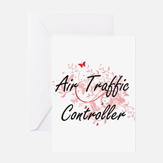 Air Traffic Controller Artistic Job Greeting Cards