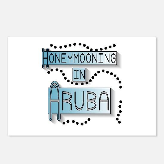 Blue Honeymoon Aruba Postcards (Package of 8)