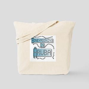 Blue Honeymoon Aruba Tote Bag