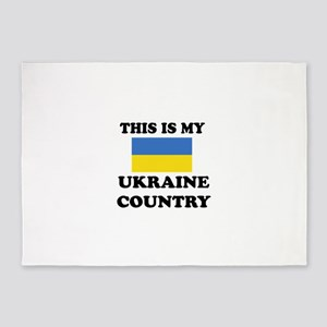 This Is My Ukraine Country 5'x7'Area Rug